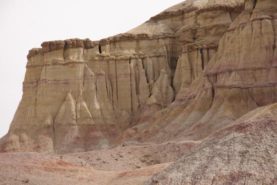 Dundgovi Province, Mongolia: Tsagaan Suvraga ( White Stupa )