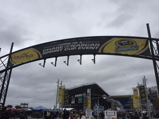 Dover International Speedway: entrance by Miles the Monster