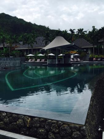 Beautiful sea view and pleasant pools