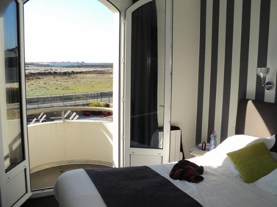 Hotel Le Castel Ac'h : la chambre 31