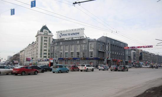 красный проспект фото новосибирск