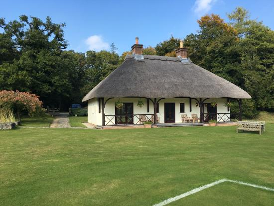 Gidleigh Park: The superb pavilion.Situated 2 minute walk away from the main hotel.