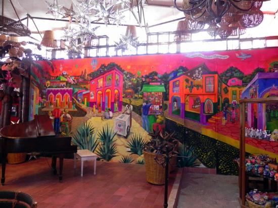 Adobe Fonda: New Interior - Mural