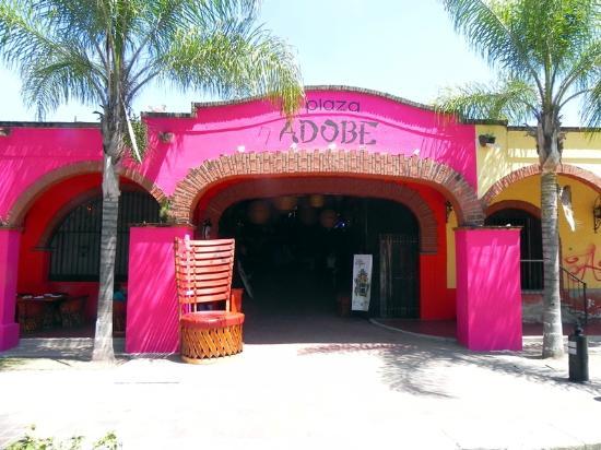 Adobe Fonda: New Front Entrance