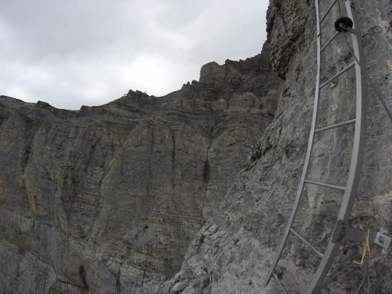 Klettersteig Gemmi-Daubenhorn Leukerbad Wallis Schweiz