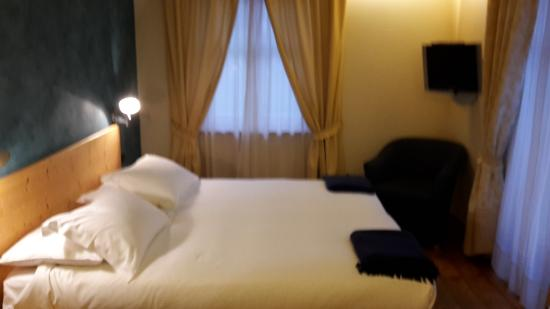 Letto picture of hotel meuble sertorelli reit bormio for Hotel meuble sertorelli