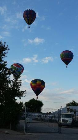 Staybridge Suites Albuquerque North So Close To The Balloon Fiesta Park That This Is