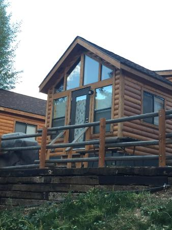 River bear cabin picture of snake river park koa and for Cabins in jackson hole