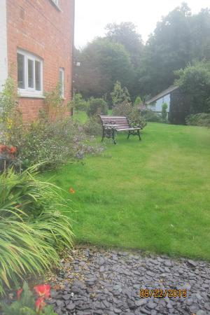 Little Brickhill, UK: View behind house