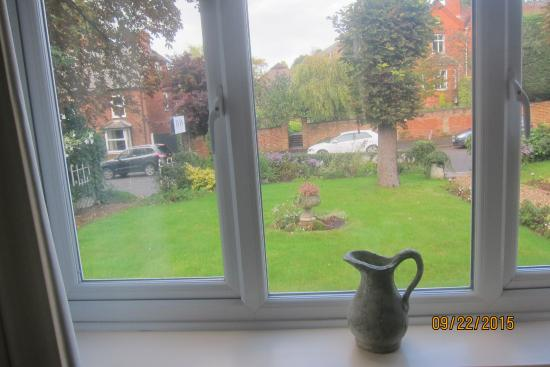 Little Brickhill, UK: View out bedroom front window