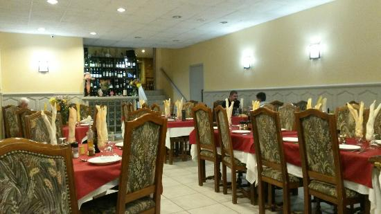 Saint-Chely-d'Apcher, ฝรั่งเศส: Restaurant le Lion d'Or