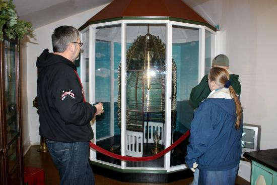 Presque Isle, MI: The original Third Degree Fresnel Lens on Display