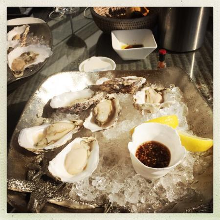 St Mawes, UK: Oysters!