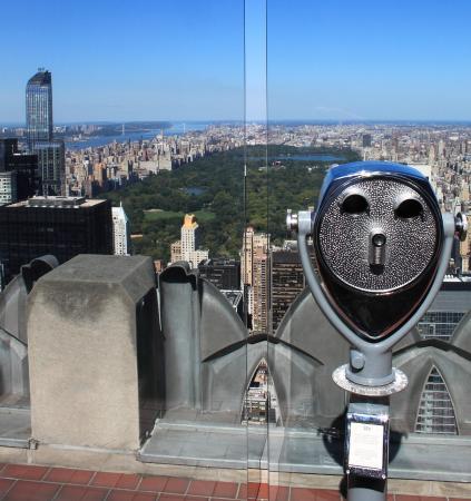 Residential skyscraper bild von top of the rock for Top of the rock new york restaurant