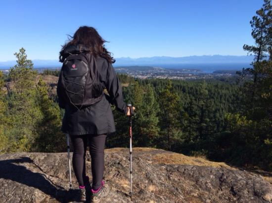 Nanaimo, Canada: Summeting Roberts Roost in Morrell Sanctuary