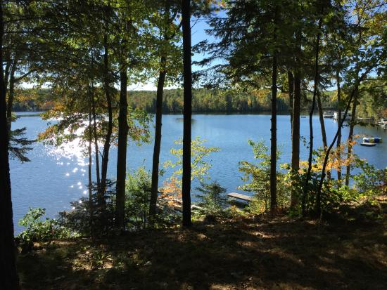 Lac du Flambeau, WI: Water and landscape are beautiful