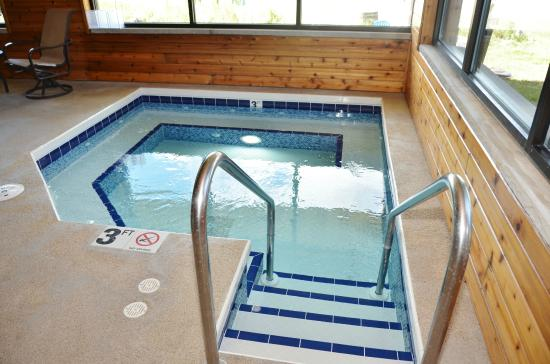 Acorn Lodge: Indoor Hot Tub