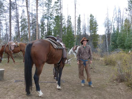 Clark, CO: Bex, owner and trail guide