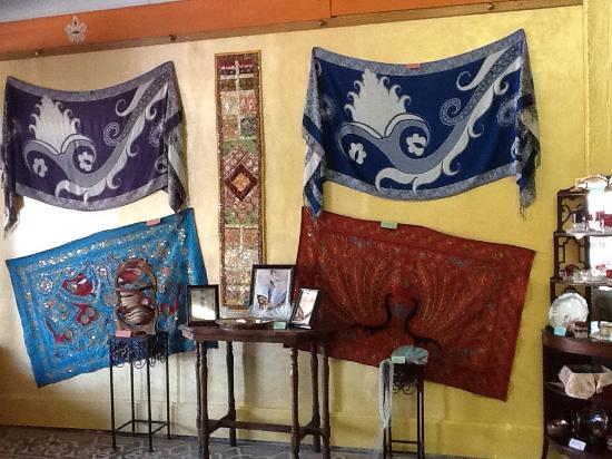 Belleville, KS: Handcrafted wall hangings from India - upcycled saris