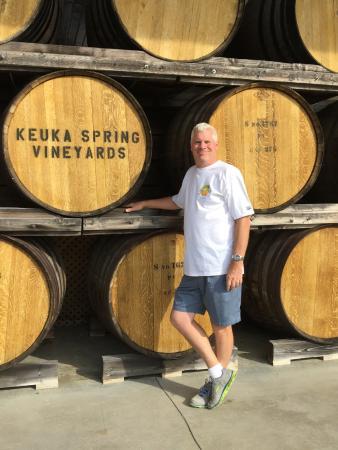 Keuka Spring Vineyards: Entrance