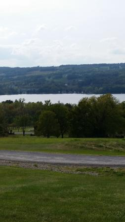 Keuka Spring Vineyards: Another view from the Tasting Room