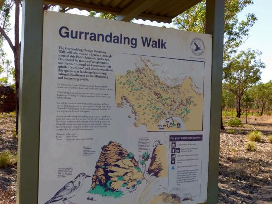 Keep River National Park: Gurrandalng Walk