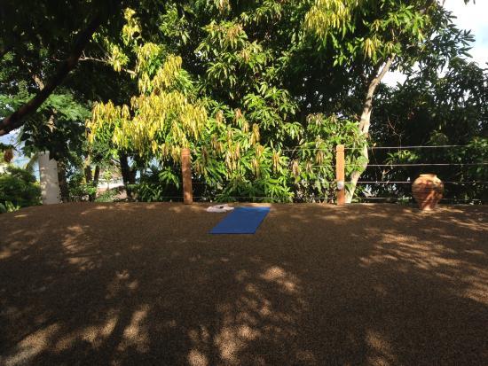 Cap Estate, Сент-Люсия: Yoga the zen deck