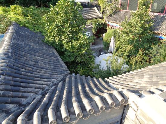 Hotel Cote Cour Beijing: View from the rooftop terrace
