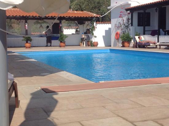 Villa Apollon Skiathos: Pool View