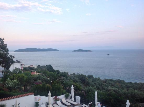 Villa Apollon Skiathos: Amazing View from room 4