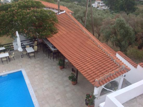 Villa Apollon Skiathos: View from room 4