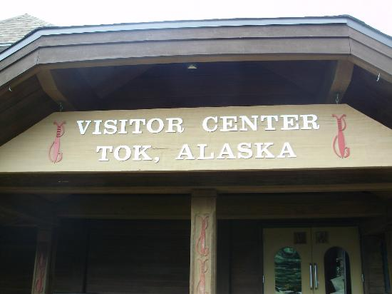 Tok Visitor Center - Entrance