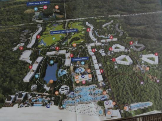 grand mayan cancun map Map Of The Grounds Picture Of The Grand Mayan At Vidanta Riviera grand mayan cancun map