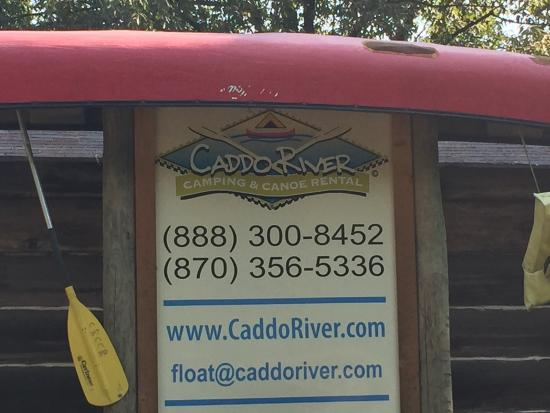 Glenwood, Арканзас: Caddo River Camping and Canoe Rental