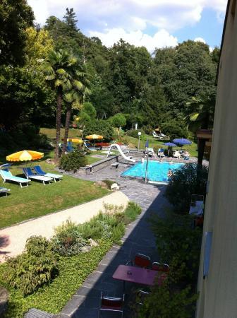 Lugano Youth Hostel : Vista dal balcone