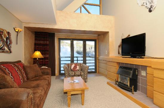Shoshone Condominium at Big Sky Resort: Shoshone Condo with loft
