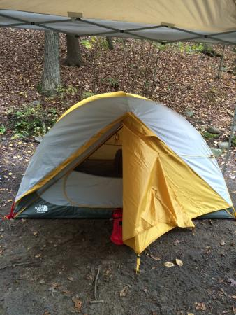 Cranberry Run Campground: campsite #45