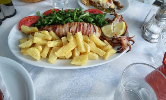 Агиос-Прокопиос, Греция: Calamari