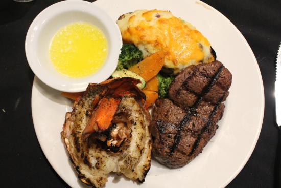 Gliss Steak & Seafood: Surf (Nova Scotia Lobster tails) & Turf