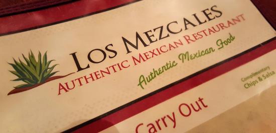 Los Mezcales Menu