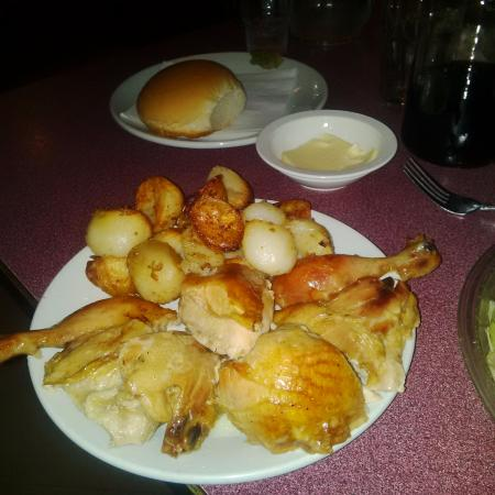 """The Colander Restaurant: Chicken and Potatoes - part of the """"special"""""""