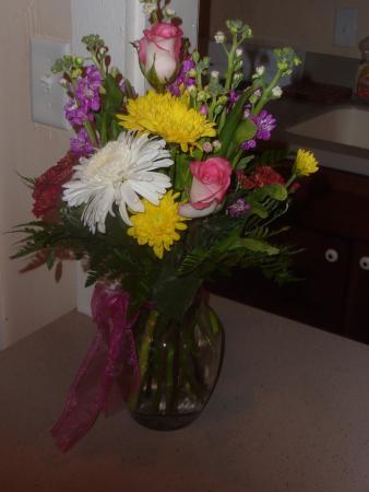 Calhoun House Inn & Suites : Flowers