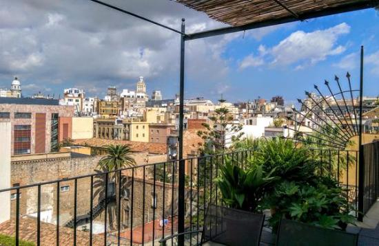 View from the top picture of casa camper hotel barcelona barcelona tripadvisor - Casa camper hotel barcelona ...