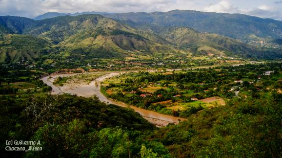 Río Chixoy en Sacapulas