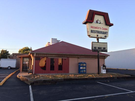 Hillbilly's Cabin Restaurant : Hillbilly's Cabin