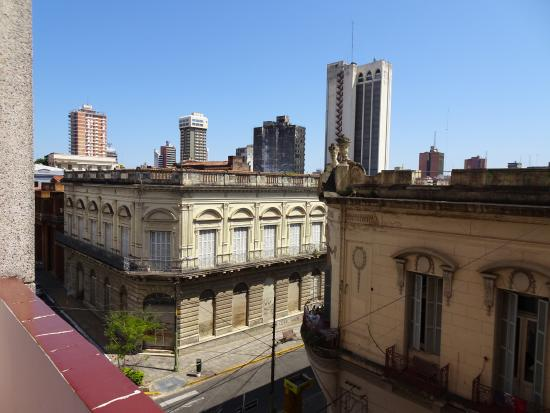 Hotel Chaco: The view from my balcony.