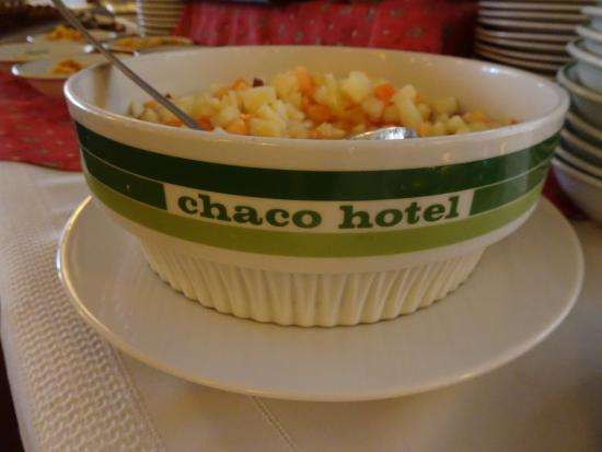 Hotel Chaco: The fruit salad bowl.  I just love bowl.