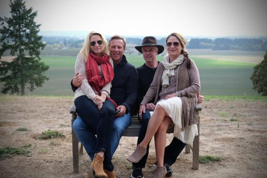 Soter Vineyards: The view from the winery