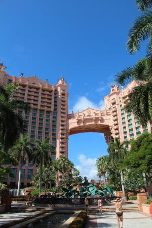 View from Atlantis - Picture of Comfort Suites Paradise ...