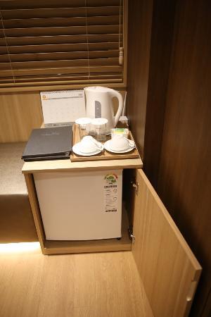 Dukgu Oncheon Resort Hotel: 커피포트